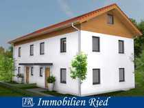 Neubau einer gehobenen Doppelhaushälfte mit