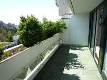 Große und sonnige Terrasse