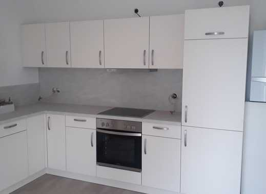 Erstbezug!  2-Zimmer- Wohnung mit großer Wohnküche, Terrasse und Gartennutzung