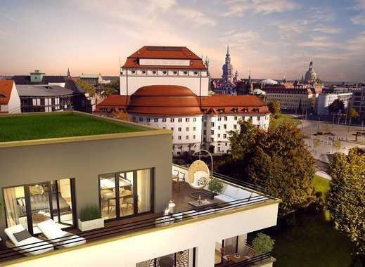 Vorhang auf für die Grand Opéra! Herrschaftliche 5-Raum-Wohnung mit atemberaubender Dachterrasse