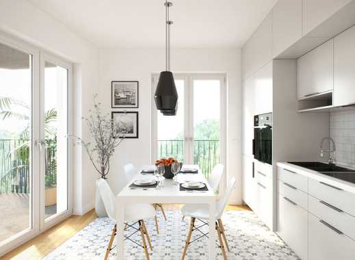 Exklusive 4-Zimmer-Maisonette-Wohnung mit 2 Bädern, wunderbarer Dachterrasse & 2 Balkonen