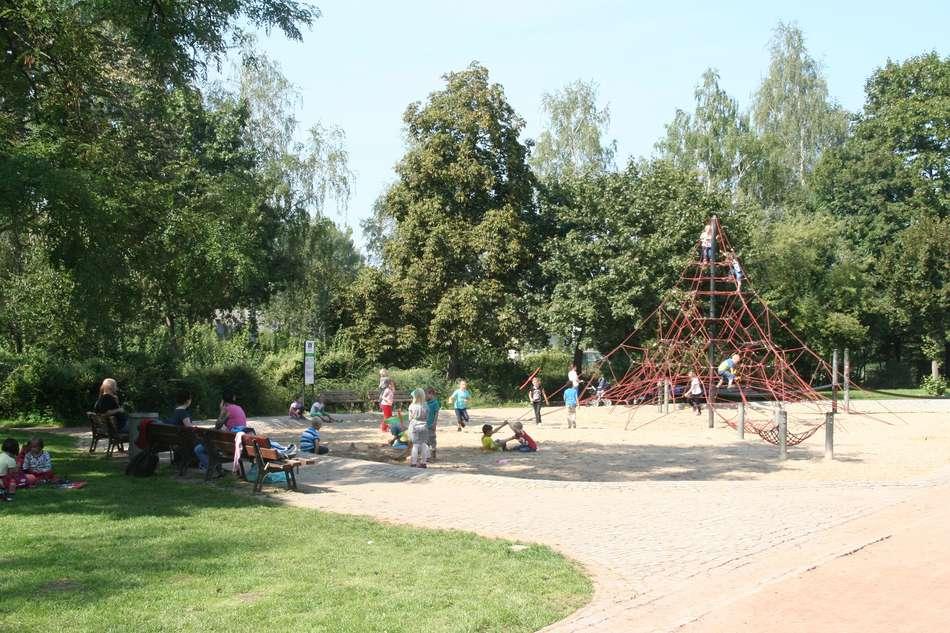 Spielplatz Alaunpark
