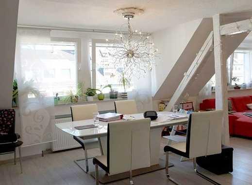 Lichtdurchflutete, geräumige 3,5-Zi-Maisonettewohnung mit Einbauküche und Garage im Herzen von Bilk