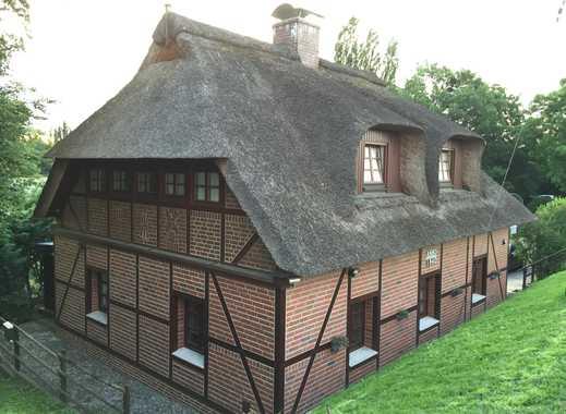 Charmantes Fachwerk-Reetdachhaus (EFH) in ruhiger Lage umgeben von viel Natur