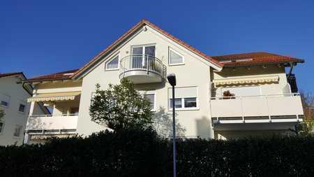 Gepflegte 3-Raum-Erdgeschosswohnung mit Balkon und Einbauküche in Bad Kissingen/ Garitz in Bad Kissingen