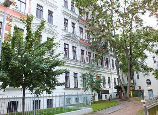 Zentrumsnahe, ruhig gelegene 2-Zimmer-Wohnung mit Einbauküche in Leipzig