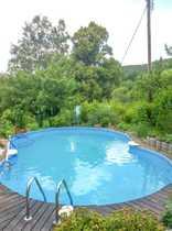 Wochenendgrundstück mit Pool von Privat