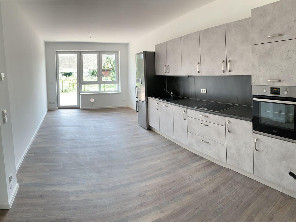 Beispiel Wohnzimmer mit Küche
