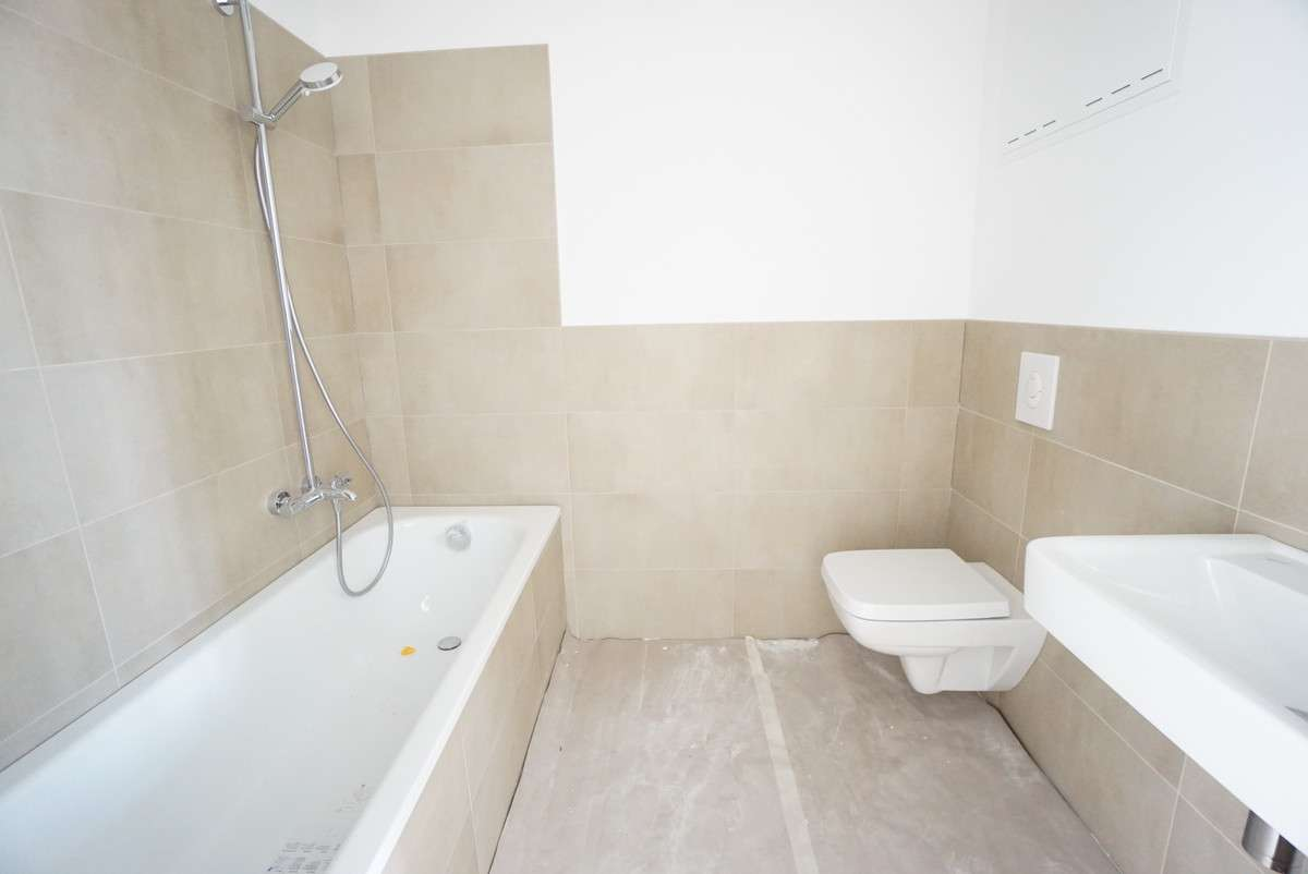 Badezimmer 1 im Bau