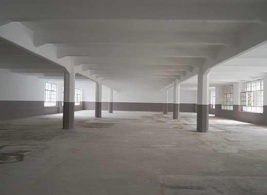 Lagerhalle -  ebenerdig befahrbar ab sofort zu vermieten - ausreichend Parkplätze vorhanden
