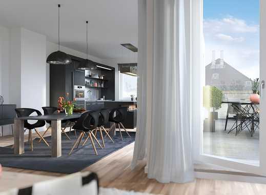 !Baustellenbesichtigung Samstag 10 – 12 Uhr! Traumhaftes 3-Zimmer-Penthouse mit großer Dachterrasse