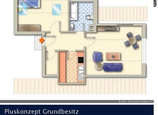 Helle Wohnung in gepflegtem Mehrfamilienhaus!