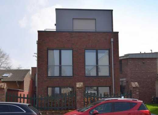 TOP+NEU+MODERN! 4-Zimmer TRAUM-Wohnung, 3 Bäder, Einbauküche und 2 Dachterrassen in MG-Geneicken!!