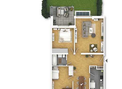 Top modernisierte 3,5 Zimmer Gartenwohnung!