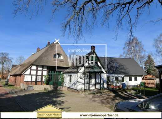 *** Bauernhaus 3 ZKB und Ferienwohnung + 2 Ferienhäuser und kl. EFH in Hüde zu verkaufen ***