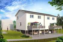 Neubauprojekt - Stadthaus zentrumsnah innovativ KfW-55-Standard - Doppelhaushäfte