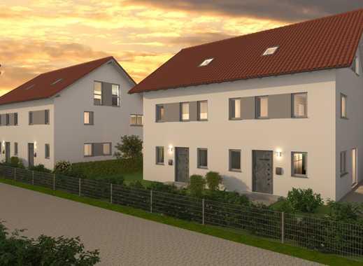 E & Co. - Hochwertige Doppelhaushälfte mit Südwest-Garten