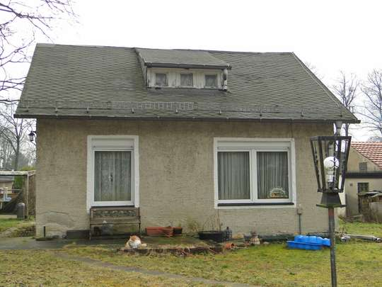 Voll erschlossenes Baugrundstück mit Gartenhaus am Südrand von Berlin - Bild 6