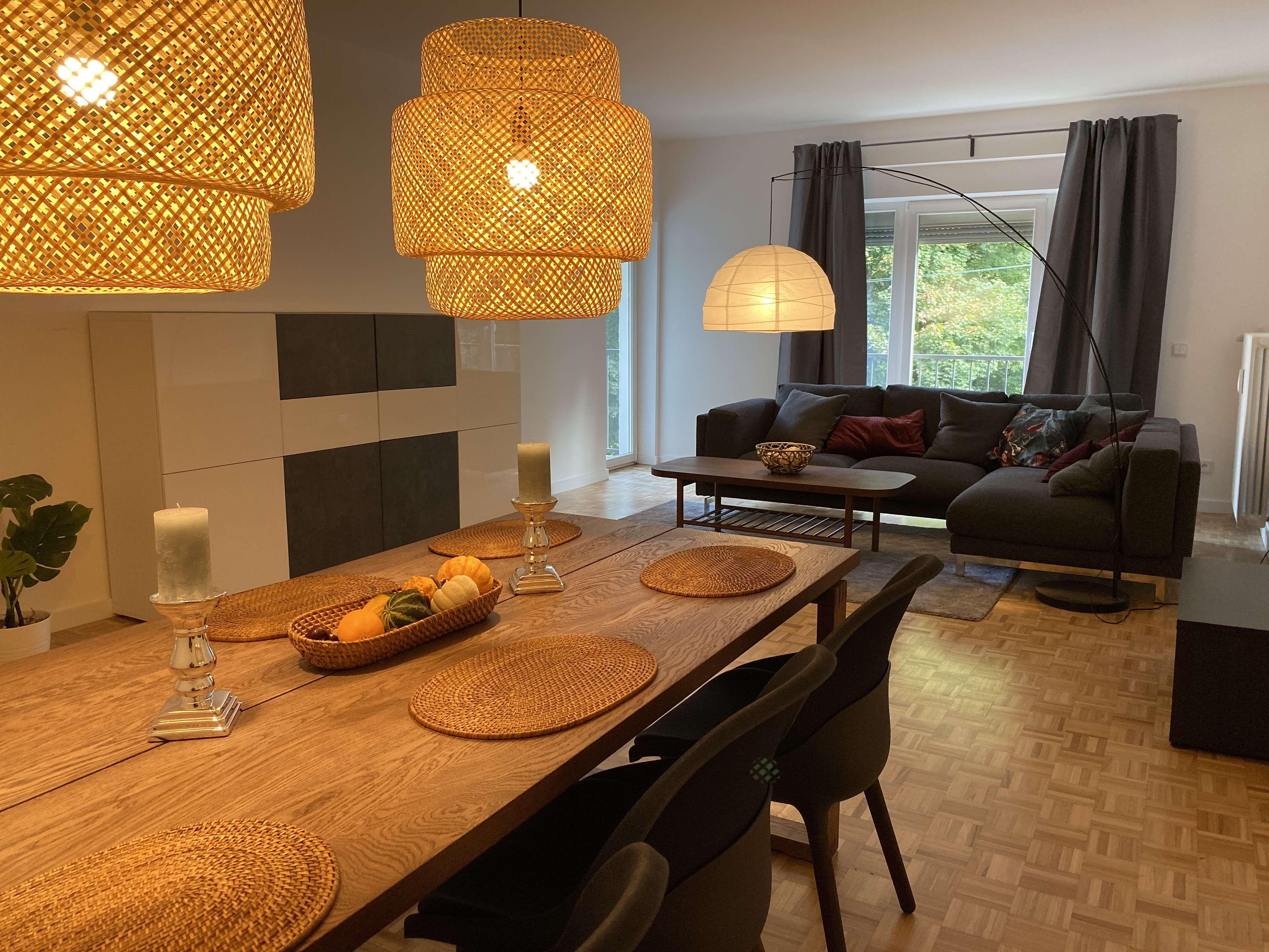 möblierte 3-Zimmer Wohnung mit Isarblick Nähe Englischer Garten in Lehel (München)