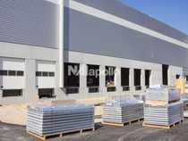 Projektierter Logistik Neubau Last Mile