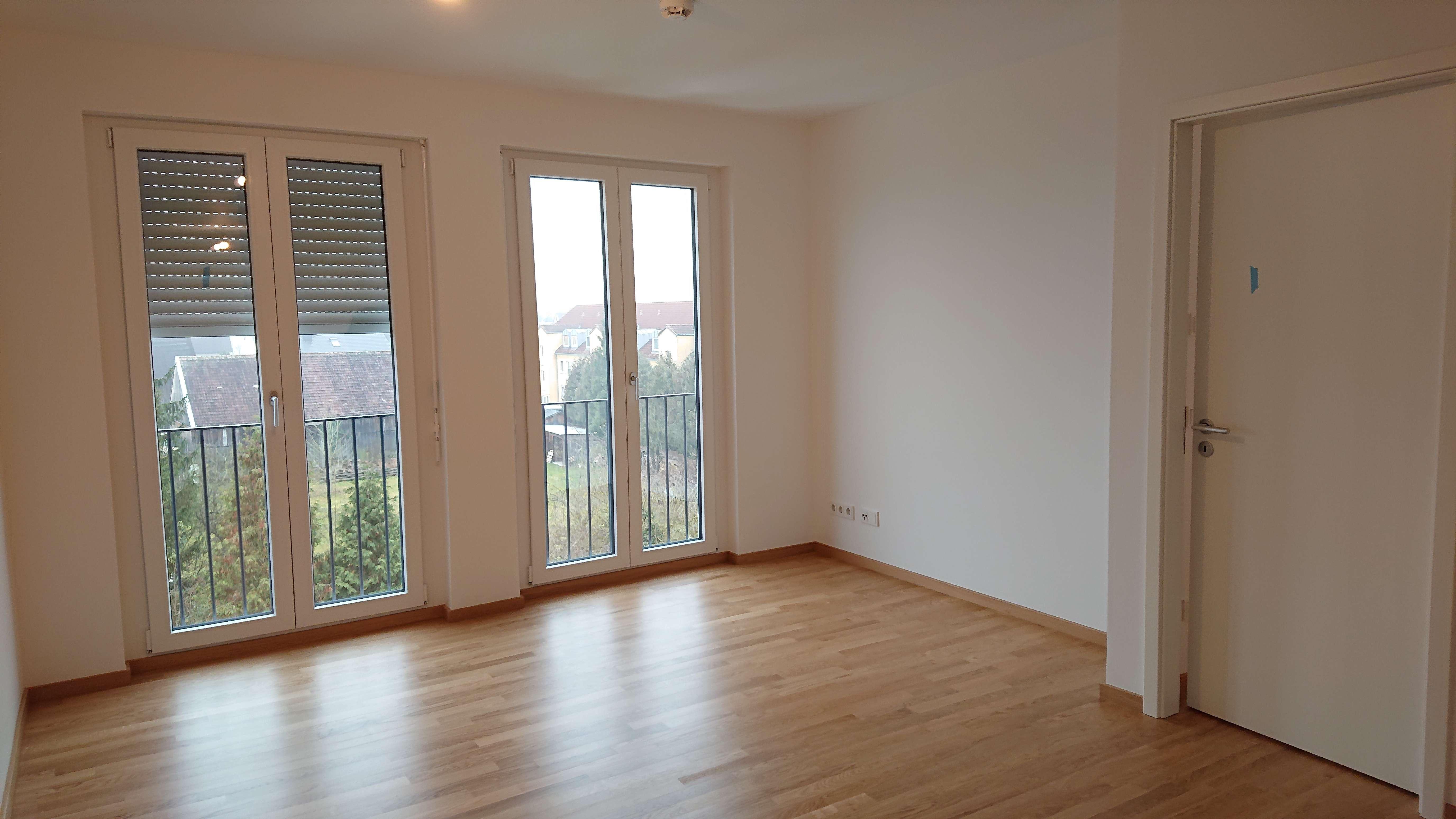 Erstbezug: stilvolle 2-Zimmer-Wohnung mit Balkon in Freising in