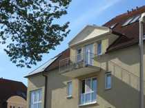 Apartment im DG mit Balkon