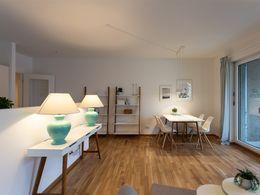 Musterwohnung Wohnzimmer 3