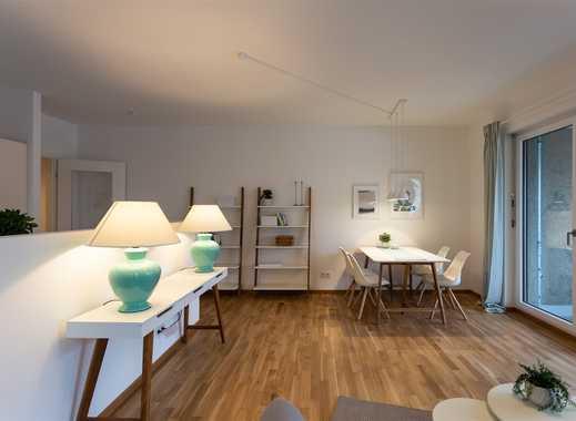 2-Zimmer-Wohnung mit Balkon und Wannenbad