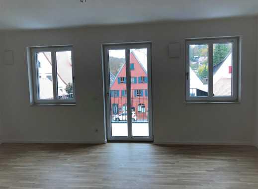 Erstbezug in moderne 1-Zimmer-Wohnung mit Einbauküche und Balkon in Donauwörth