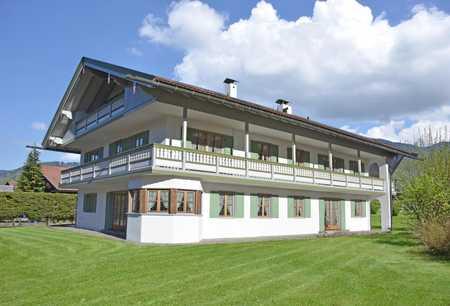 3-Zimmer-Gartenwohnung in einem renovierten Mehrfamilienhaus in Rottach-Egern