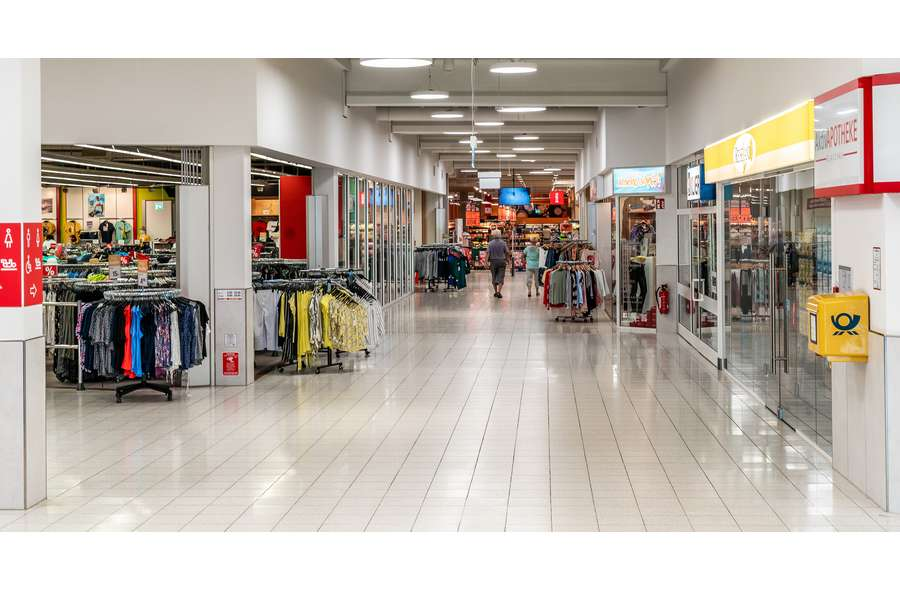 Blick in die Mall