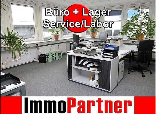 • Büroflächen • Service-/Laborflächen • Lagerhalle • zentrale Lage • Hamburg-Billbrook