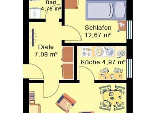 2-Zimmer-Wohnung östlich vom Zentrum