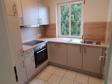 Erstbezug nach Sanierung: 1,5-Zimmer-Wohnung mit Einbauküche und Balkon in Coburg in Cortendorf (Coburg)