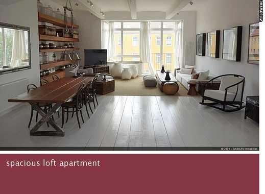 Living in the modern loft ?! * fully furnished / wellness bath / 2 BEDROOM*