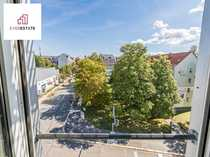 Vermietete Dachgeschosswohnung mit Ost-Balkon und