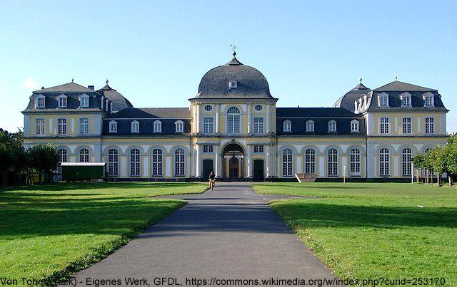 Schloss Poppelsdorf ganz nahe