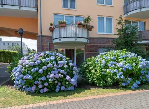 Sehr gemütliche 2-Raum EG-Wohnung: Schöner wohnen, direkt am Rhein.