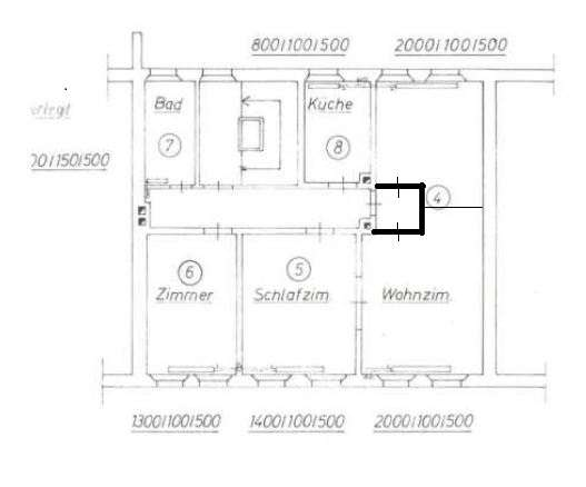 Gemütliche 4 Zimmer Wohnung, zentral in Fürth, inmitten der Metropolregion Nürnberg Erlangen in