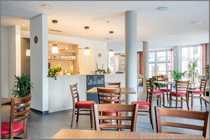 Cafe Bistro im Zentrum von