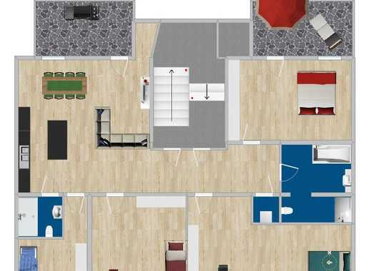 Erstbezug n. Sanierung / Fußbodenh. / 2 Terrassen/2 Stellplätze/ MIETINVEST / Eigenkapital notwendig