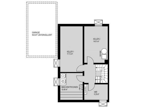 DH_Haus 1_Kellergeschoss