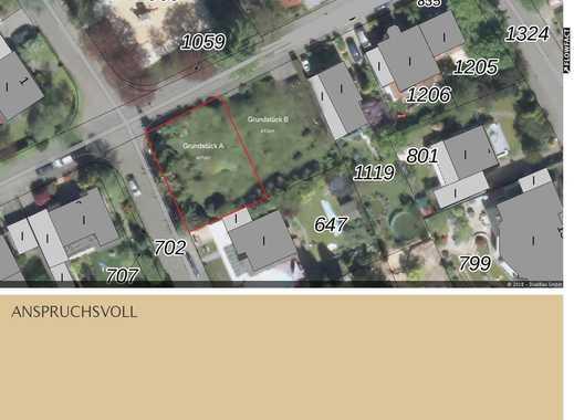 Baugrundstück mit Südgarten für ein EFH