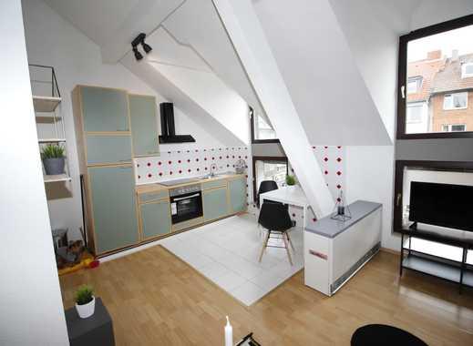 *City-Apartment mit Balkon* 2 Zimmer-Maisonette mit Balkon möbliert inkl. W-Lan & TV