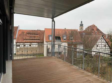 Wohnen mit Blick auf Kaiserpfalz mitten in Forchheim/Oberfranken  in Forchheim (Forchheim)
