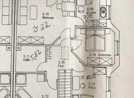Ansprechende 3-Zimmer-Wohnung zur Miete in Leezen
