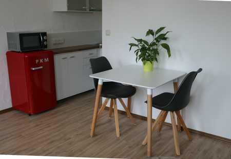 hübsch möbliert und komplett ausgestattete 2 Zi.-Wohnung mit Süd-Balkon, Zentrale Lage zur Audi, Sta in Nordost (Ingolstadt)