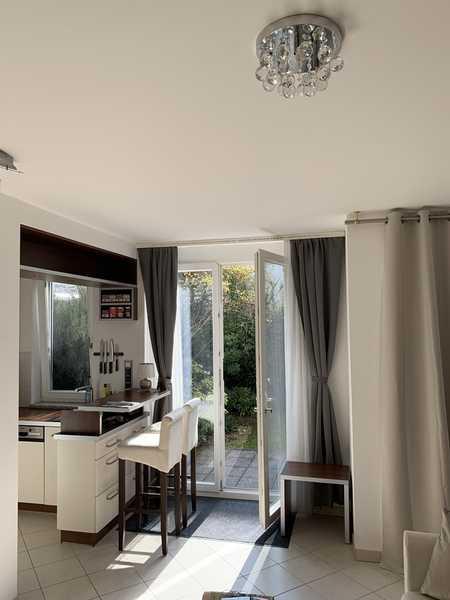 Möbliertes,exklusives 1,5 Zi. Apartment mit Garten/Terrasse Münchner Freiheit nahe Englischer Garten in Schwabing (München)