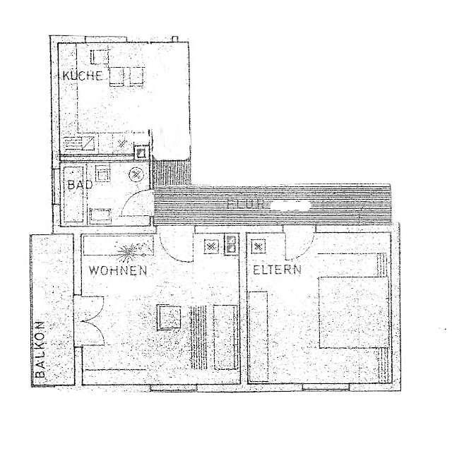 Geräumige 2-Zi.-Wohnung in Miesbach! in Miesbach