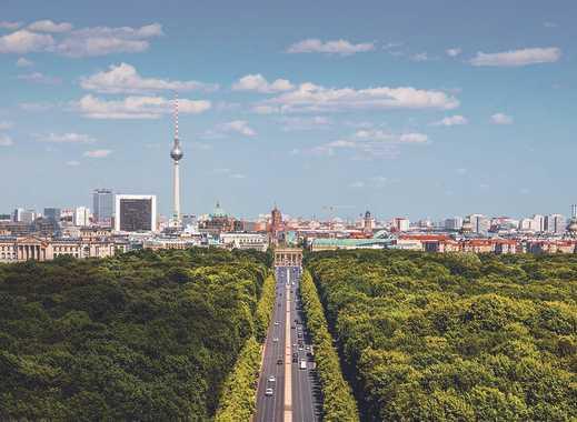 Modernes Penthouse mit 3 Dachterrassen, damit man über den Dächern Berlins träumen kann.